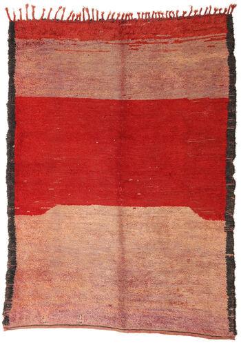 Noué à la main. Origine: Morocco Tapis Berber Moroccan - Beni Ourain 184X253 Rouille/Rouge/Marron Clair (Laine, Maroc)