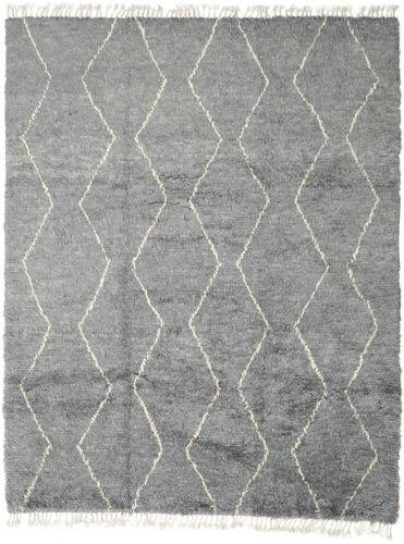 Noué à la main. Origine: Morocco 252X311 Tapis Berber Moroccan - Beni Ourain Moderne Fait Main Gris Clair/Vert Clair Grand (Laine, Maroc)