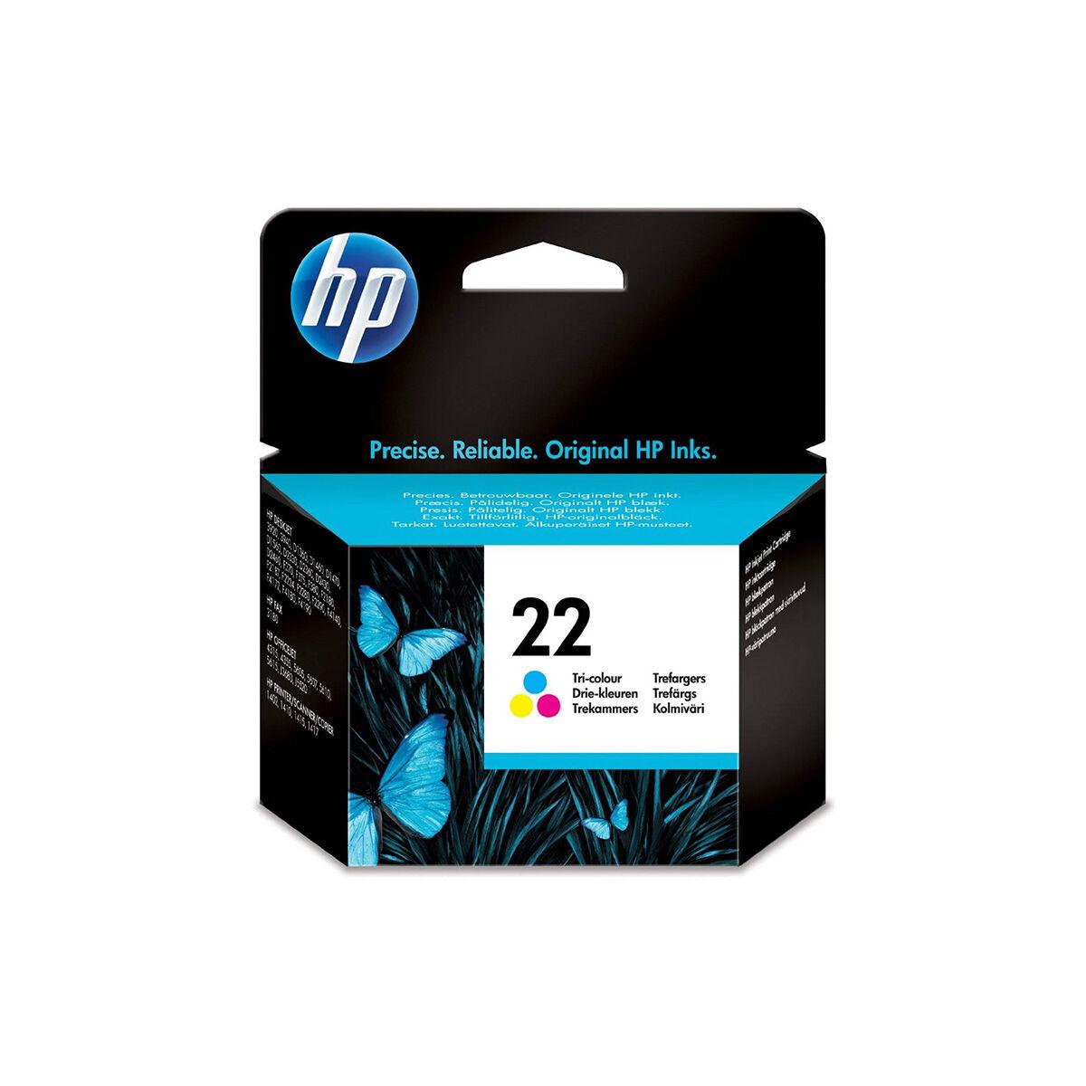 Cartouche Imprimante Hp - N°22 Couleur