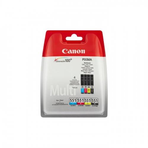 Cartouche D'encre Cli-551 - Noir Et Couleur - Canon