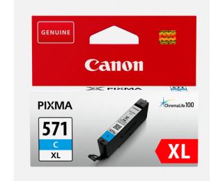 Cartouche d'encre CLI571 XL - cyan - Canon