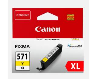 Cartouche D'encre Cli571 Xl - Jaune - Canon