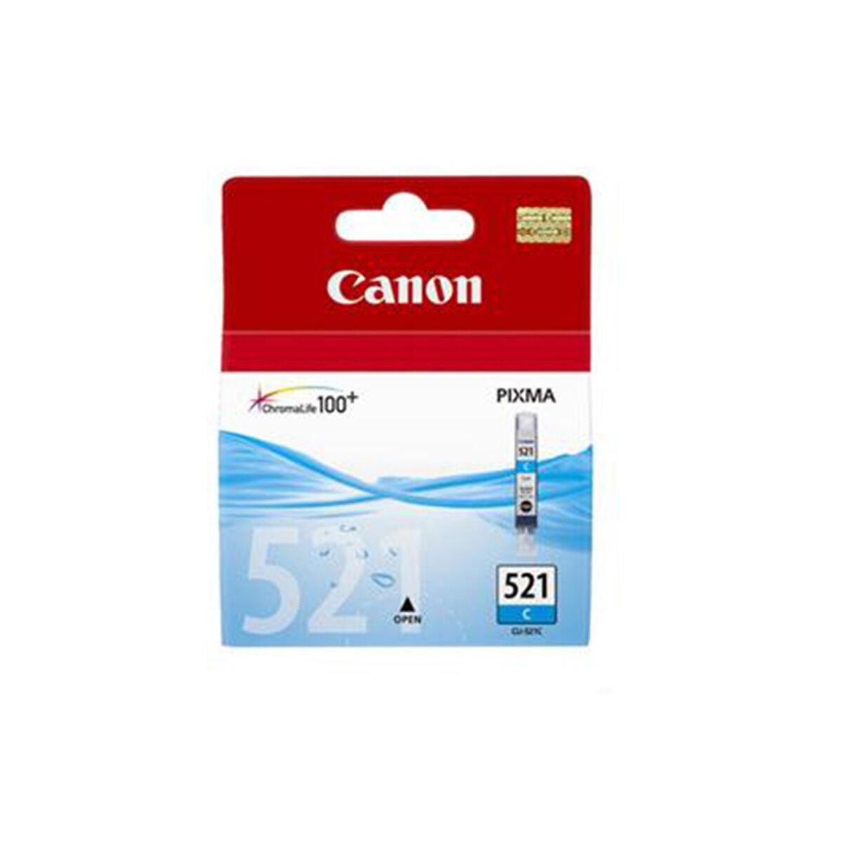 Cartouche Imprimante Canon - 521 Cyan
