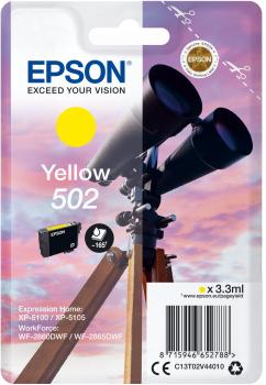Cartouche D'encre 502 Jumelle - Jaune - Epson