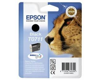 Cartouche D'encre T0711 Guépard - Noir - Epson