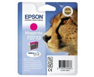 Cartouche D'encre T0711 Guépard - Magenta - Epson