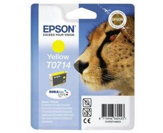 Cartouche D'encre T0711 Guépard - Jaune - Epson