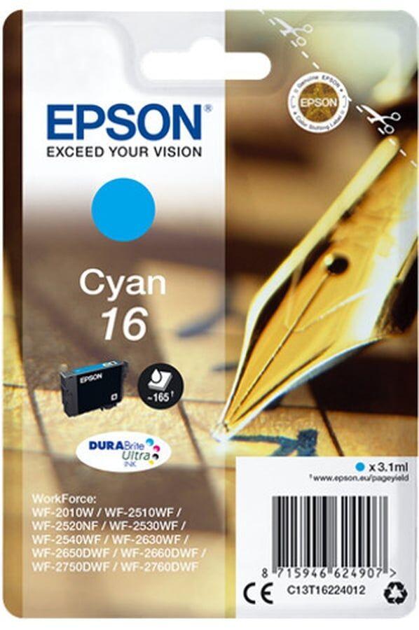 Cartouche D'encre Epson Série Stylo À Plume 16 - Cyan