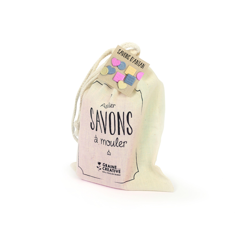 Sachet 100% Coton Mon Atelier Savon - Fabrication D'antan