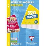 Feuilles Simples A4 21 X 29.7 Cm - 320 Pages Grands Carreaux - Clairefontaine... par LeGuide.com Publicité