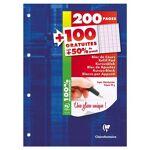 Bloc De Feuilles Simples A4 21 X 29.7 Cm - 300 Pages Grands Carreaux... par LeGuide.com Publicité