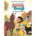 Nathan Les aventures d'anouk et benji - un cheval si génial Anouk... par LeGuide.com Publicité