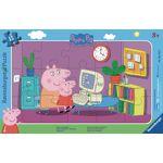 Puzzle 15 Pièces - Peppa Pig - Devant L'ordinateur - Ravensburger... par LeGuide.com Publicité