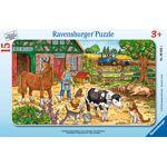 Puzzle La Vie À La Ferme - 15 Pièces Un puzzle de 15 pièces à assembler... par LeGuide.com Publicité