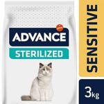 advance  Advance Sterilized Sensitive Chat au saumon 3 kg Les croquettes... par LeGuide.com Publicité