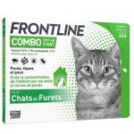 frontline  Frontline Combo Chat 3 pipettes Les pipettes antiparasitaires... par LeGuide.com Publicité