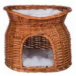 trixie  Trixie Panier osier avec lit au dessus pour chat Le panier en osier... par LeGuide.com Publicité