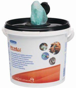 Wypall Lingettes pour mains 7775 CANISTER/GREEN