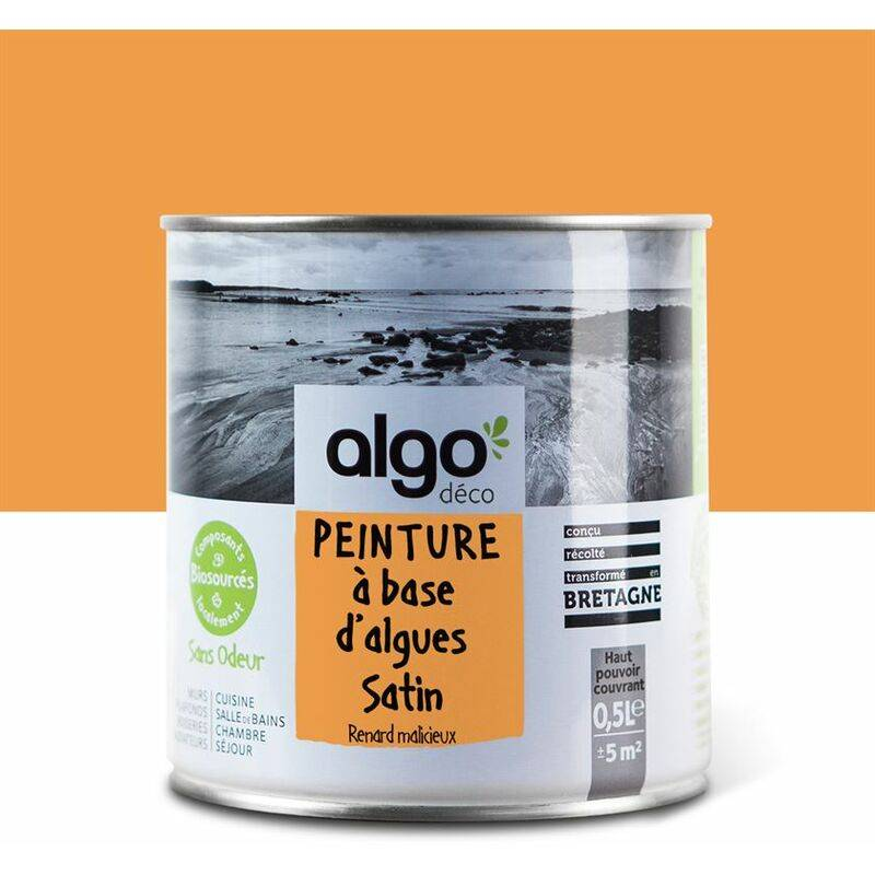 ALGO Peinture écologique Algo à base d'algues 100% naturelles - Satin