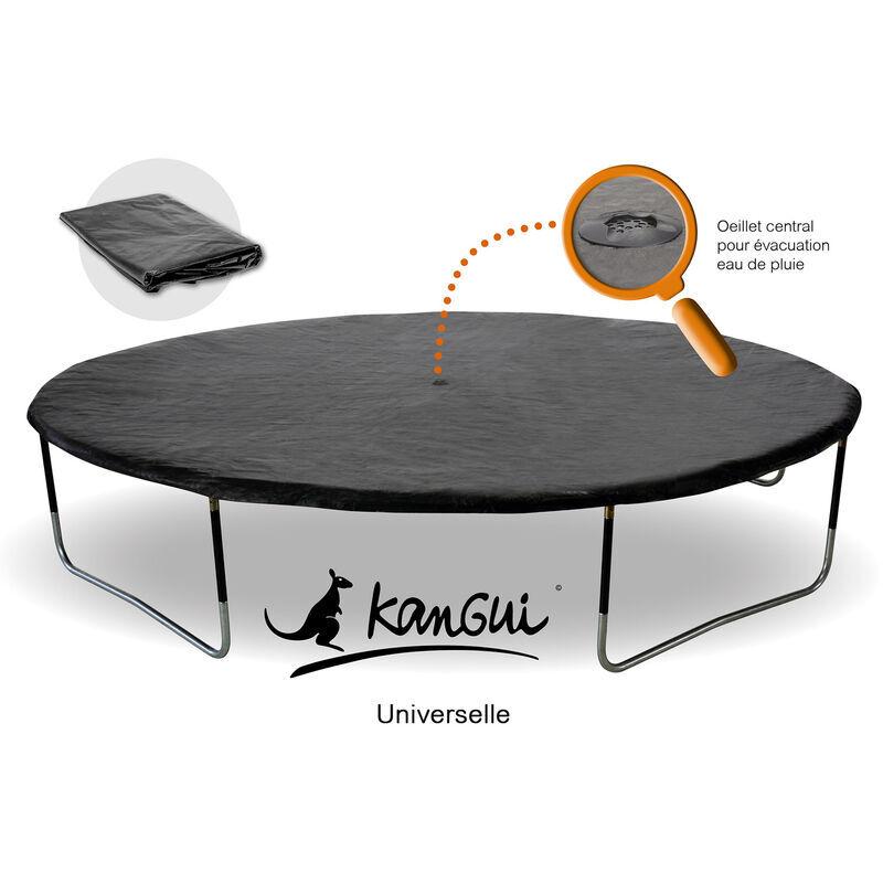 KANGUI Bâche de protection Ø250cm adaptable à tous trampolines de diamètre 250