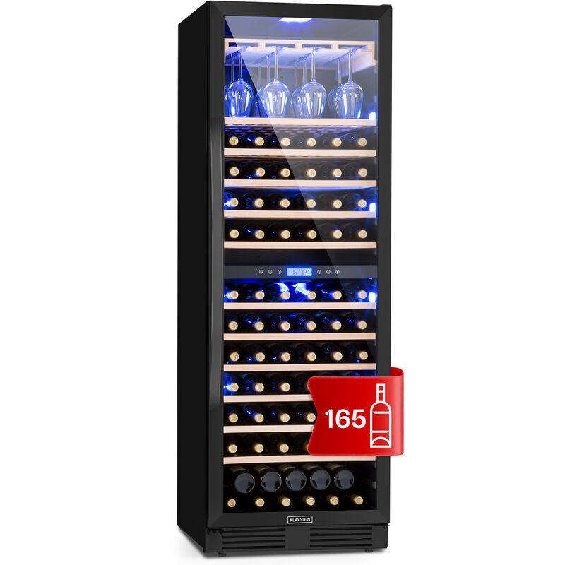 Klarstein Vinovilla Onyx Grande Duo Cave à vins 425L / 165 bouteilles B