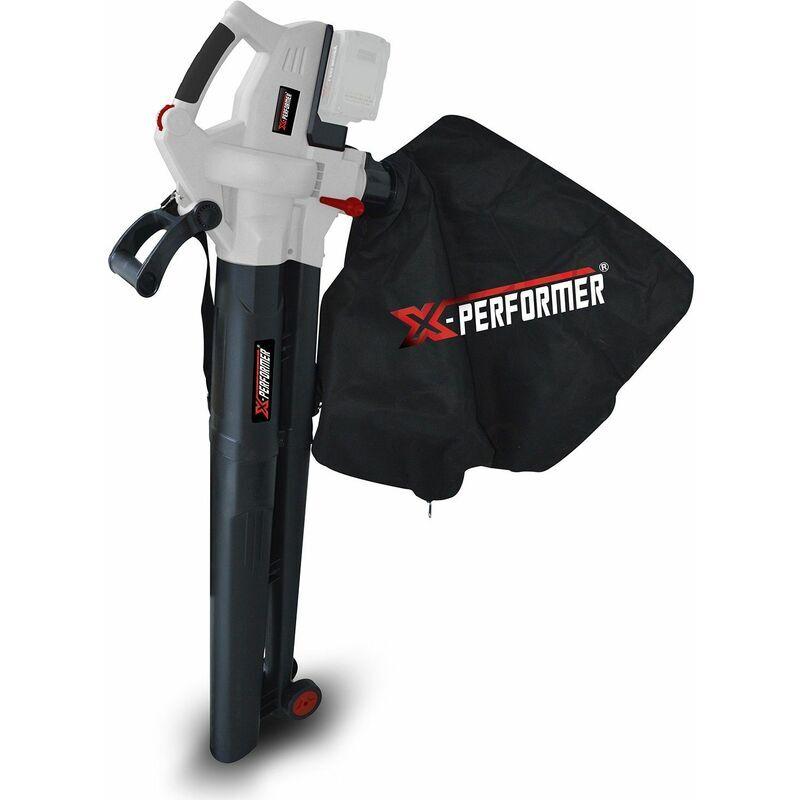 X-PERFORMER Aspirateur souffleur broyeur de feuilles 40V à batterie X-Performer