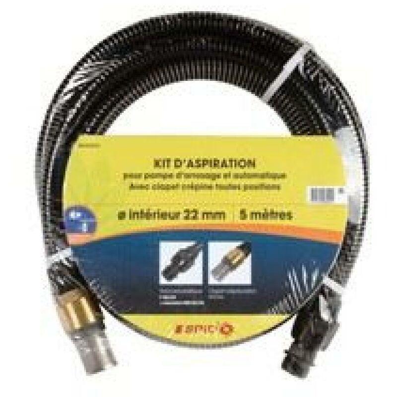 DIPRA Kit d'aspiration - Laiton - 7 m - Dipra