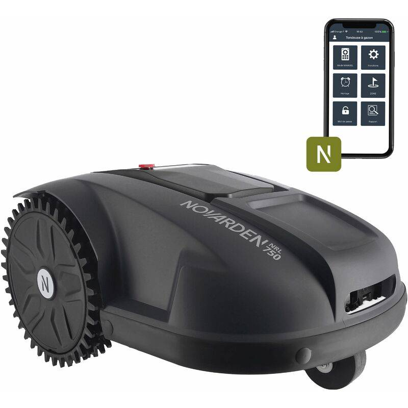NOVARDEN Robot tondeuse NRL750 NOVARDEN Connect