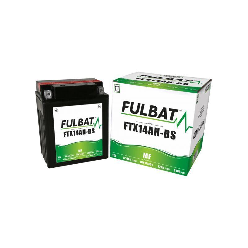 Fulbat - Batterie moto YTX14AH-BS étanche 12V / 12Ah