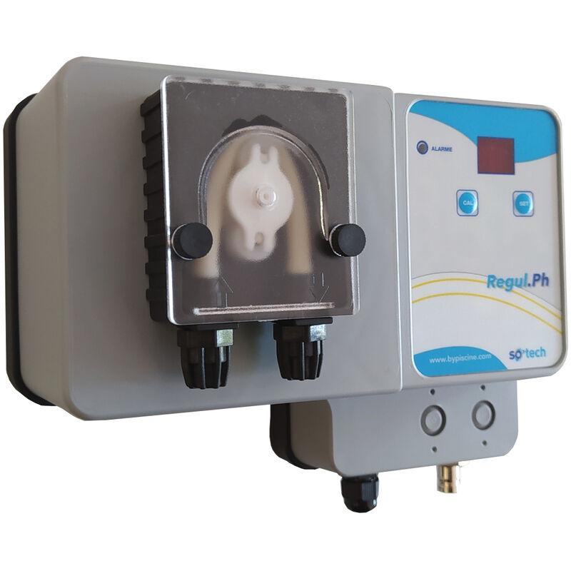 BYPISCINE Pompe doseuse automatique de pH pour piscine gamme So'Tech de ByPiscine