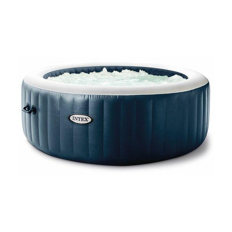 INTEX Spa gonflable PureSpa Blue Navy 4 places - Bleu nuit - Intex