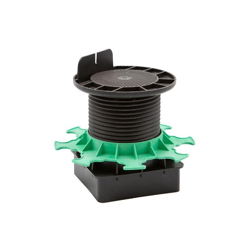 JOUPLAST Plot terrasse réglable 20/90 mm pour pieu métallique Jouplast Elevo A