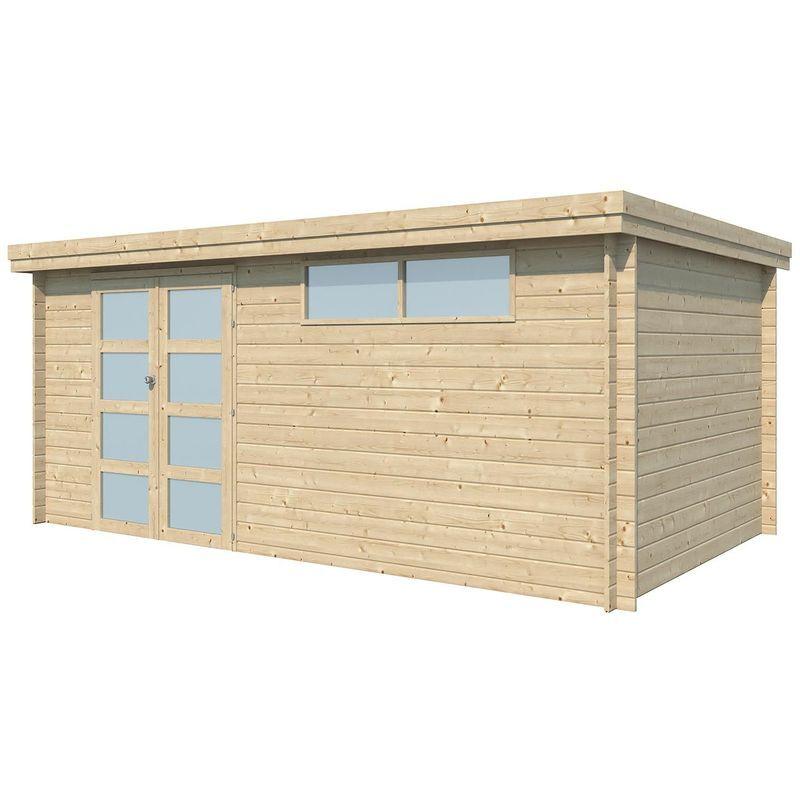 Gardenas - Chalet en bois 14.9 m² Moderne Sans option
