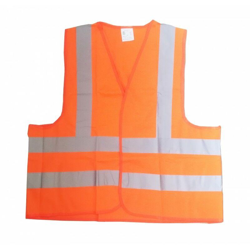MAXTER Gilet de sécurité Reflex Orange Taille L
