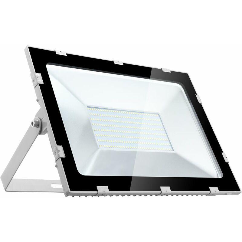 HOMMOO 8 PCS 200W Cinquième Génération Projecteur Super Mince Blanc Froid