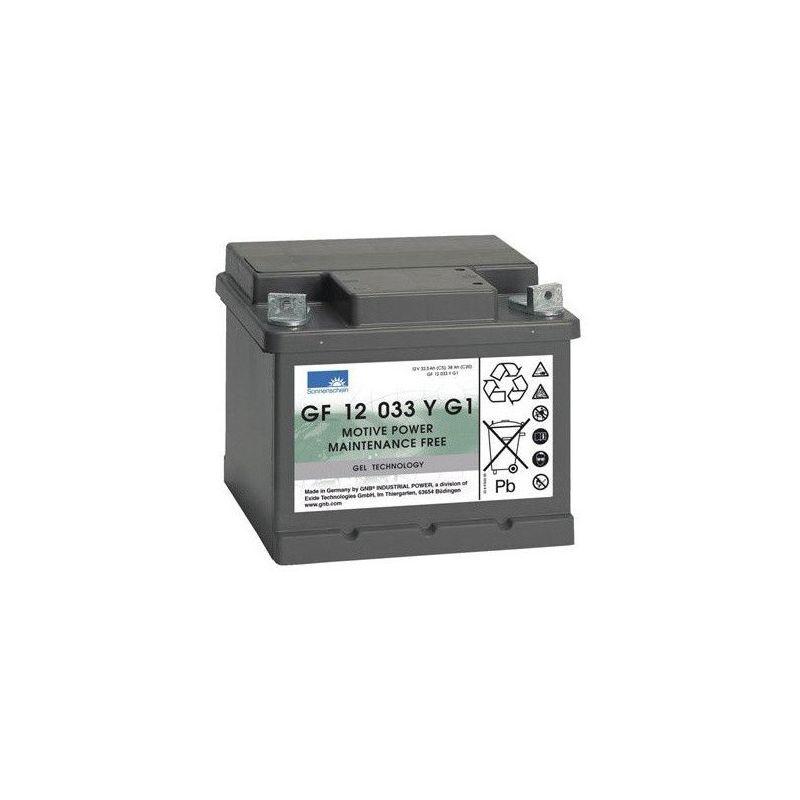 SONNENSCHEIN Batterie Gel Sonnenschein GF12033YG1 12v 38ah