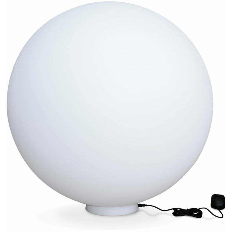 ALICE'S GARDEN Boule lumineuse LED 16 couleurs, étanche , recharge sans fil avec