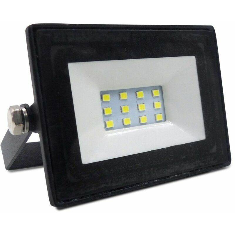LAMPESECOENERGIE LED Projecteur Lampe 10W 6000-6500K IP65 Extra Plat ref 028