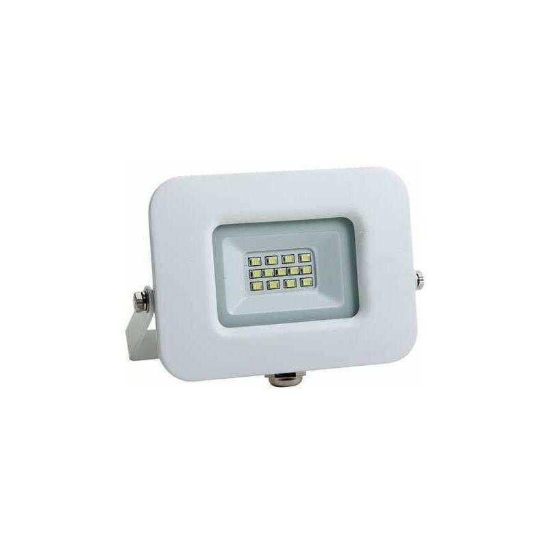 OPTONICA Projecteur LED 10W (60W) Blanc Premium Line IP65 850lm - Blanc du Jour