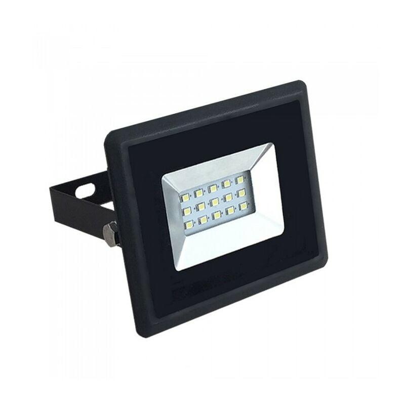 ECLAIRAGE DESIGN Projecteur LED 10W Noir IP65 Extérieur   Température de Couleur: Blanc