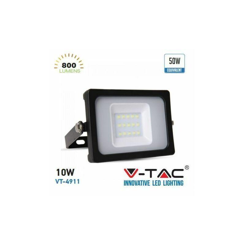 V-TAC Projecteur Led 10w SMD Ultra mince blanc froid Marque - V-tac