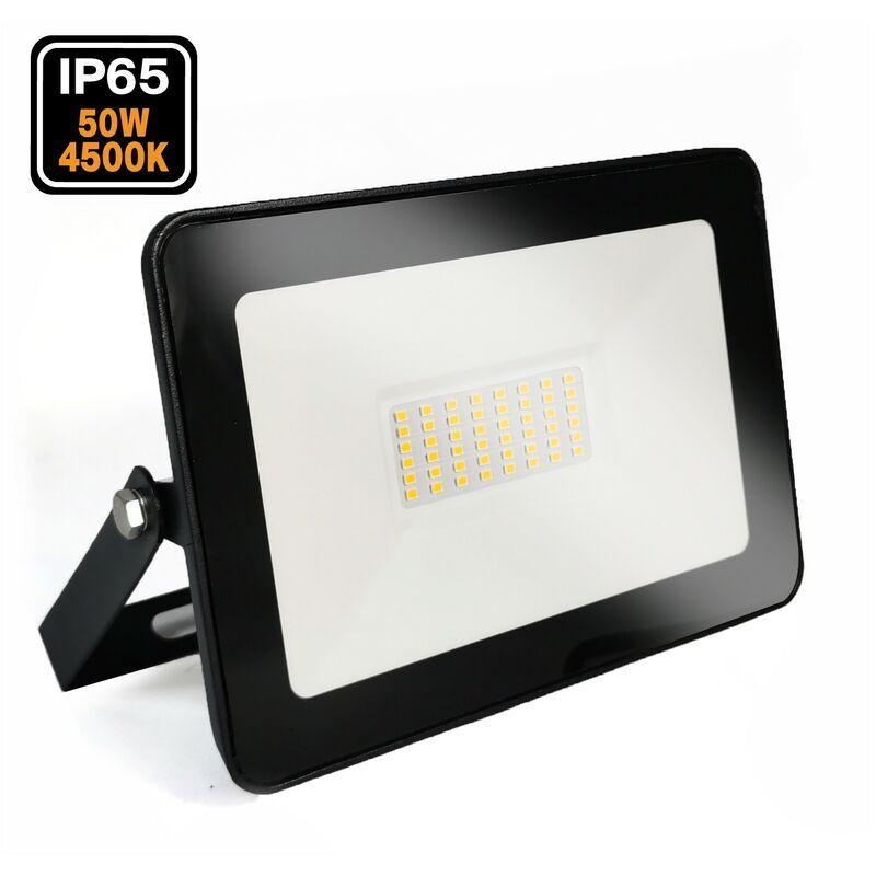 Europalamp - Projecteur LED 50W Ipad Blanc neutre 4500K Haute Luminosité