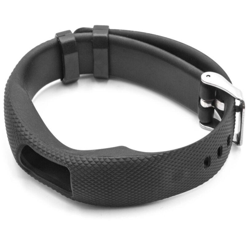 vhbw bracelet TPE compatible avec Garmin Vivofit 4 montre connectée