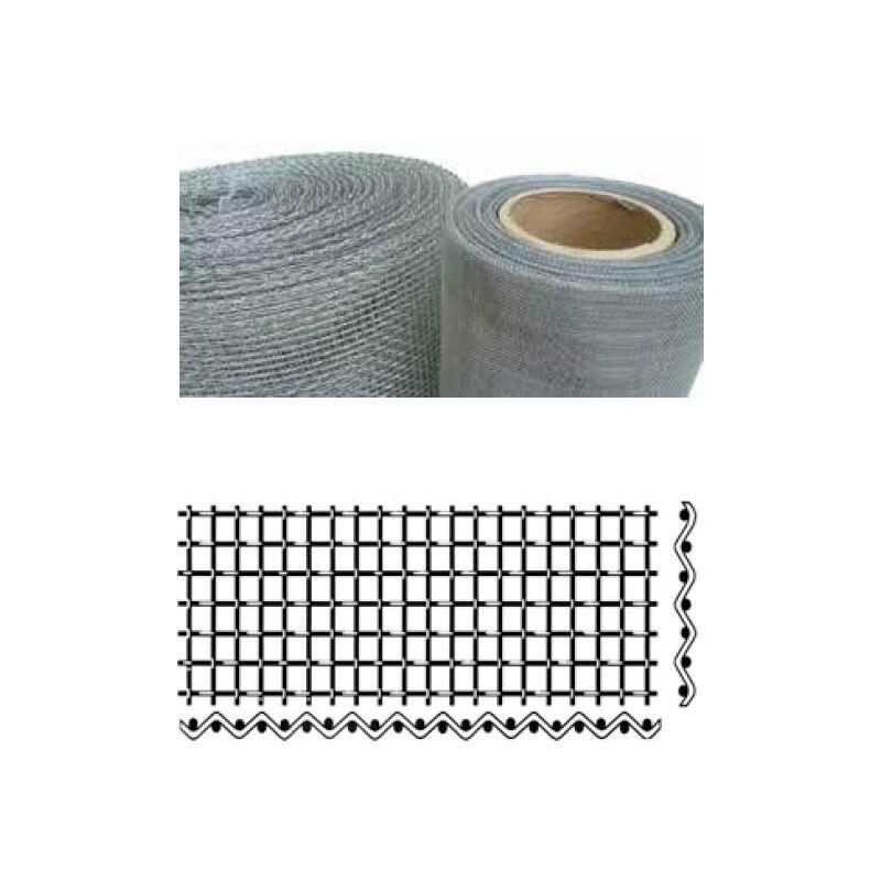 CME - Tissu léger en fer galvanisé - 1x25 m - 1,62 mm