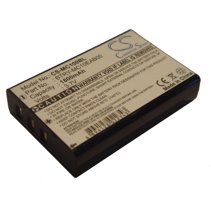 VHBW Batterie LI-ION 1800mAh pour SYMBOL MC1000 MC 1000, remplace les