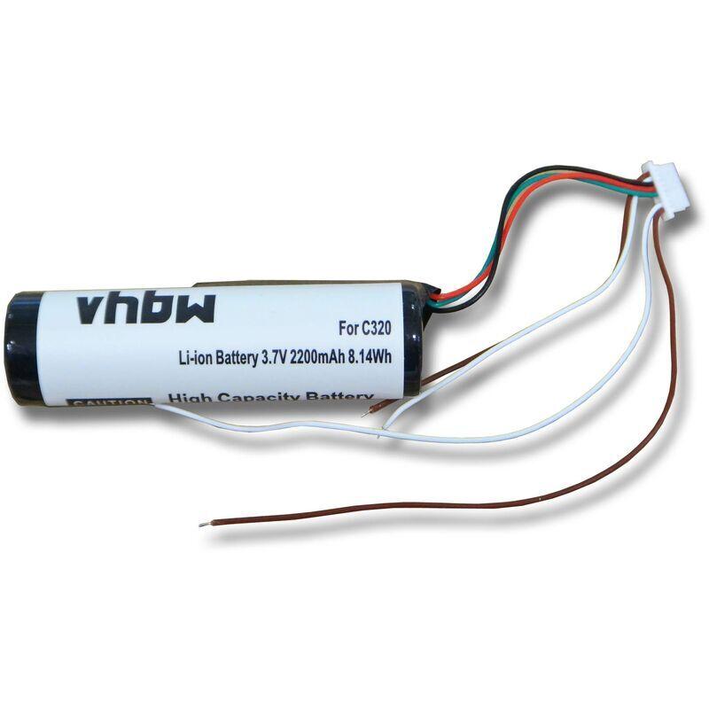 VHBW Batterie Li-ION 2200mAh pour Garmin StreetPilot C310, C320, C330, C340,