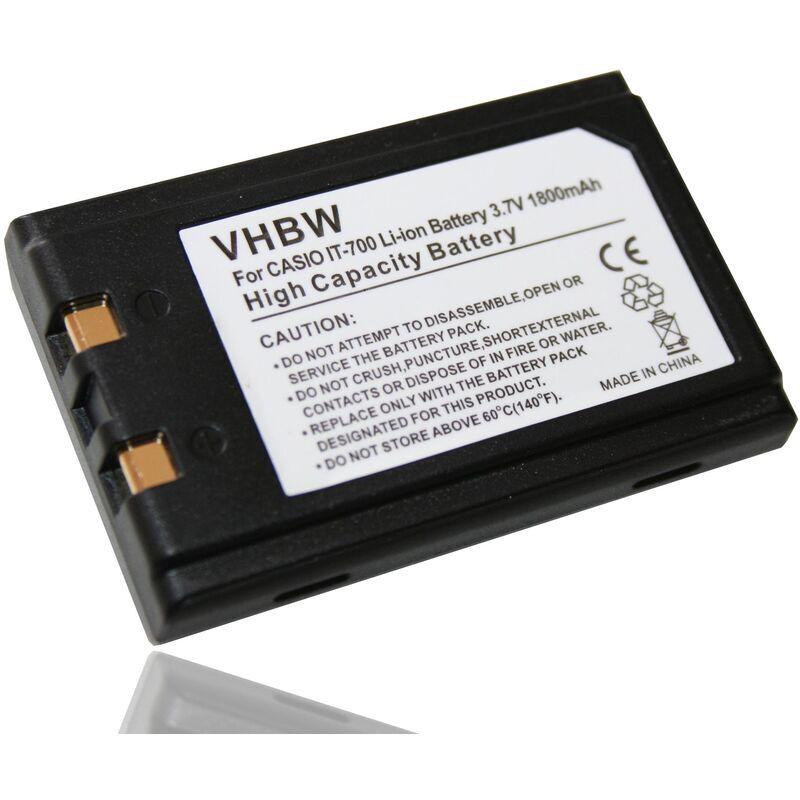 VHBW batterie compatible avec Symbol SPT1842, SPT1846 scanner de code-barres