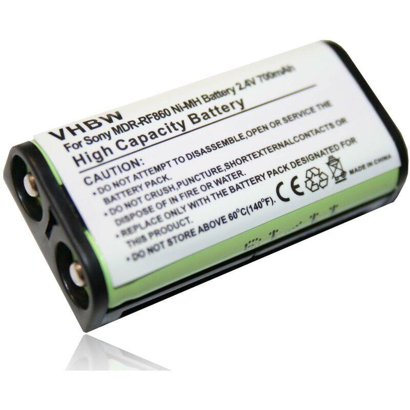 VHBW Batterie compatible avec Sony MDR-RF840, MDR-RF840R, MDR-RF850,