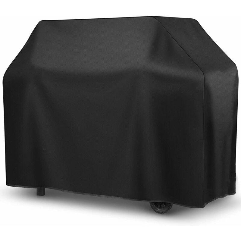 PERLE RARE Housse de barbecue extérieur noir et intérieur argent (carré M) 100 *