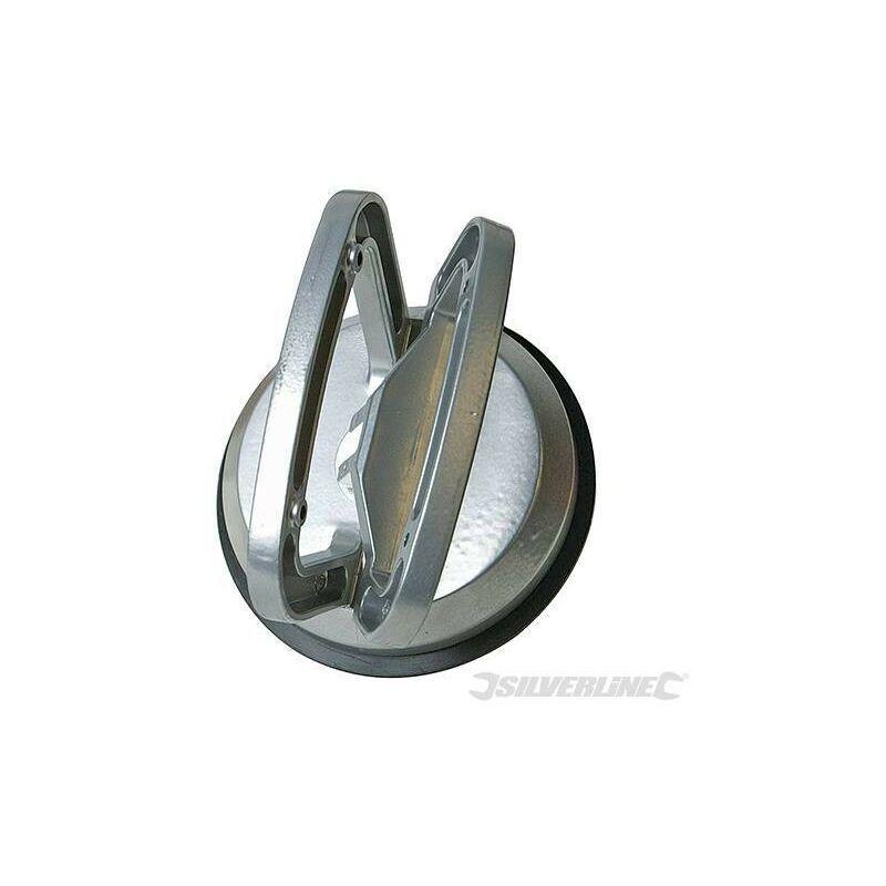 SILVERLINE Ventouse en aluminium, 50 kg, simple